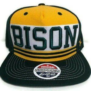 Vintage NDSU Bison Zephyr Embroidered Snapback Hat